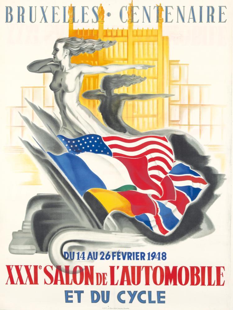 XXXIe Salon de l'Automobile / Bruxelles. 1948