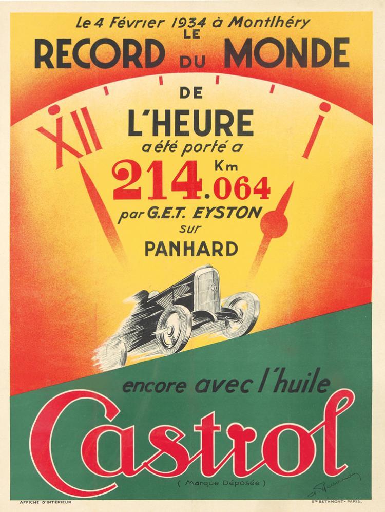 Castrol. 1934