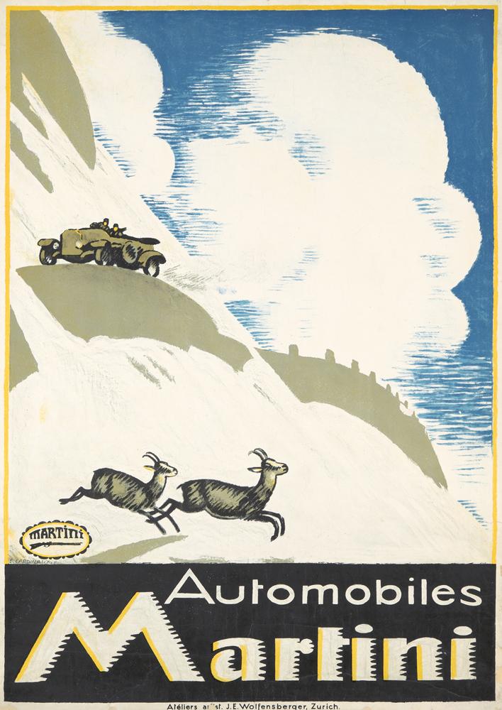 Automobiles Martini. 1916