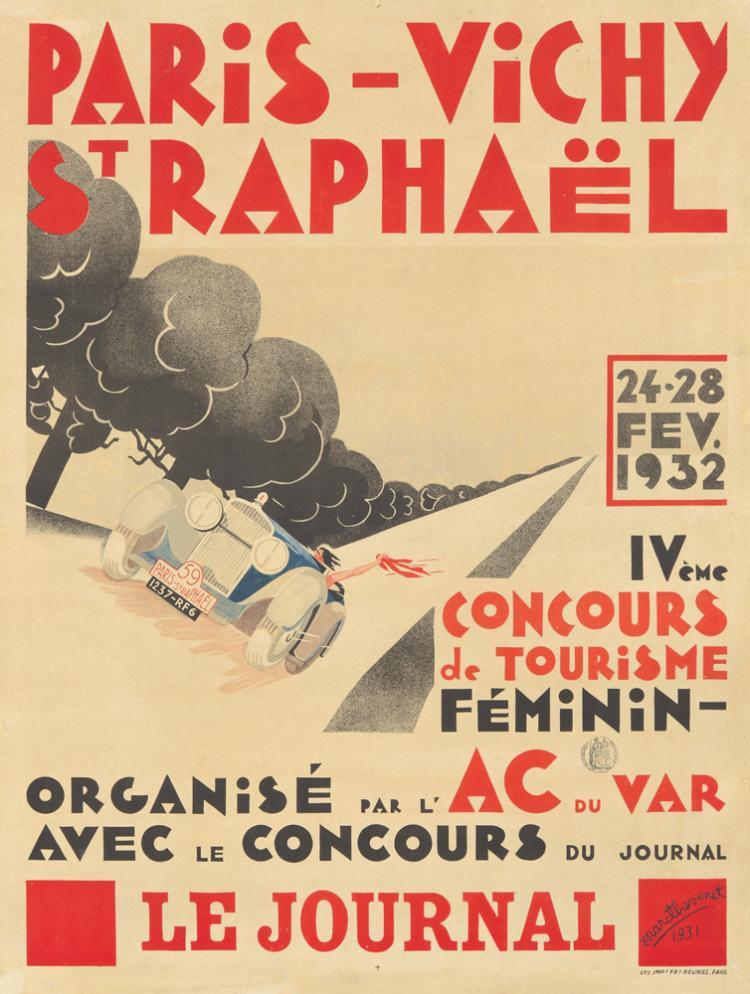 Paris-Vichy-St. Raphaël. 1931