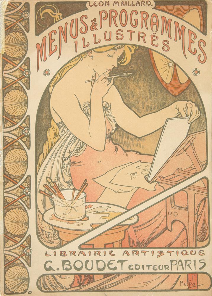 Les Menus & Programmes Illustrés, by Léon Maillard. 1898