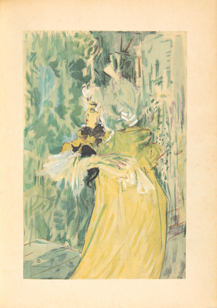 Henri de Toulosue-Lautrec, by Gotthard Jedlicka. 1929