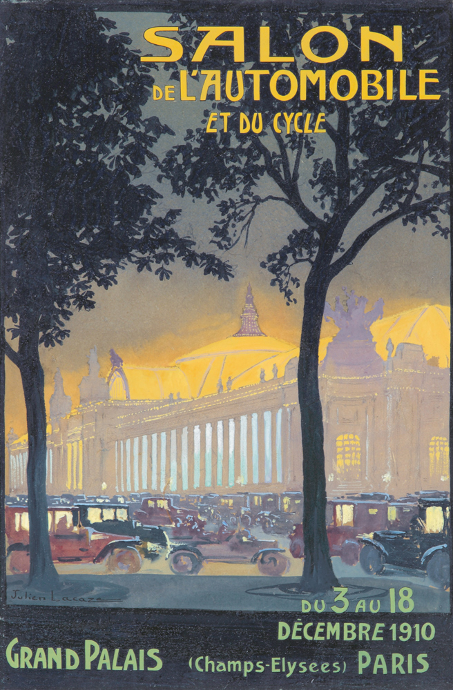 Salon de l'Automobile. 1910