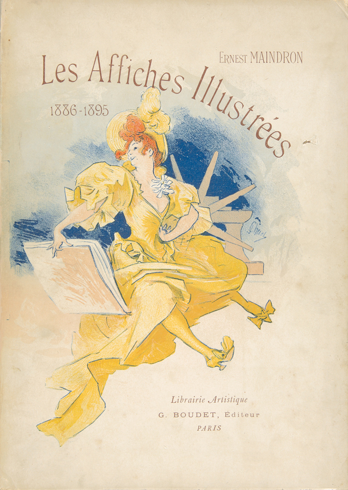 Affiches Illustrées 1886-1895, by Ernest Maindron. 1896