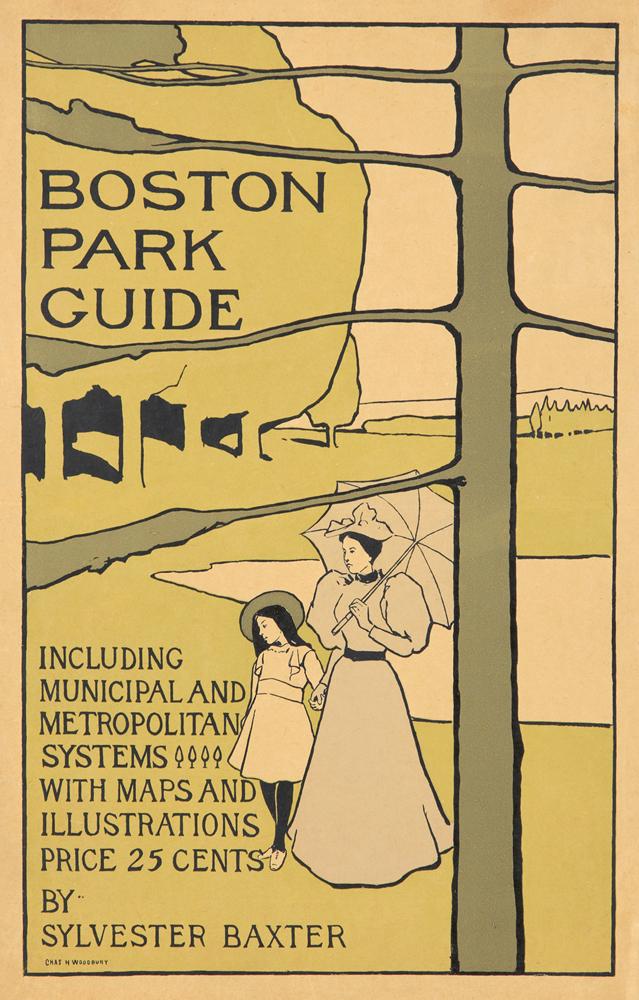 Boston Park Guide. 1895