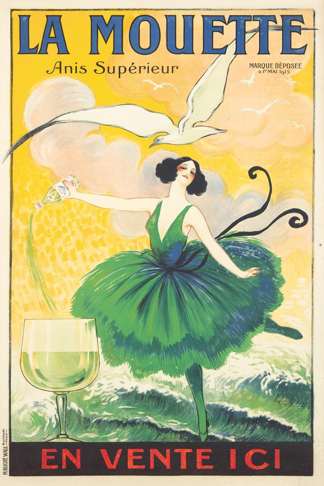 La Mouette. ca. 1920