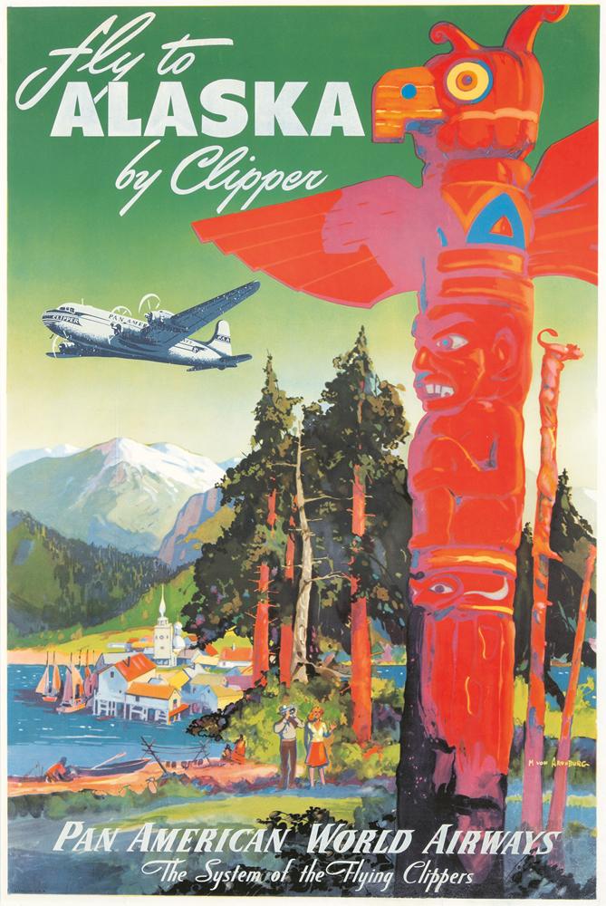 Pan American / Alaska. ca. 1939