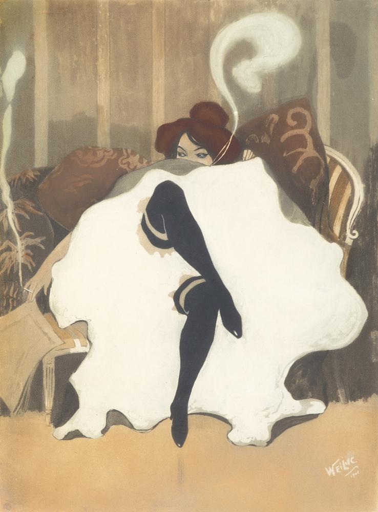 Le Frou-Frou. 1900