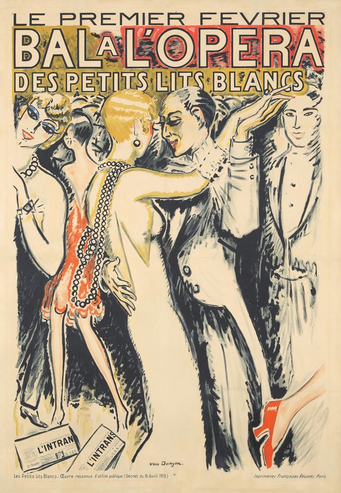 Bal a l'Opéra des Petits Lits Blancs. ca. 1920