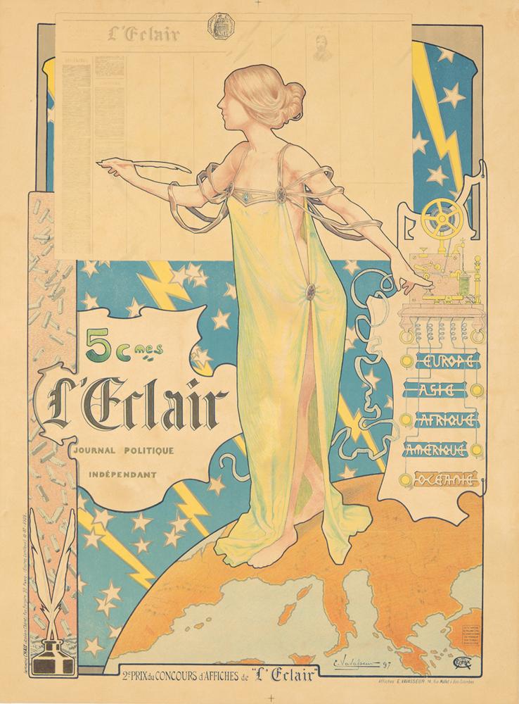 L'Eclair. 1897