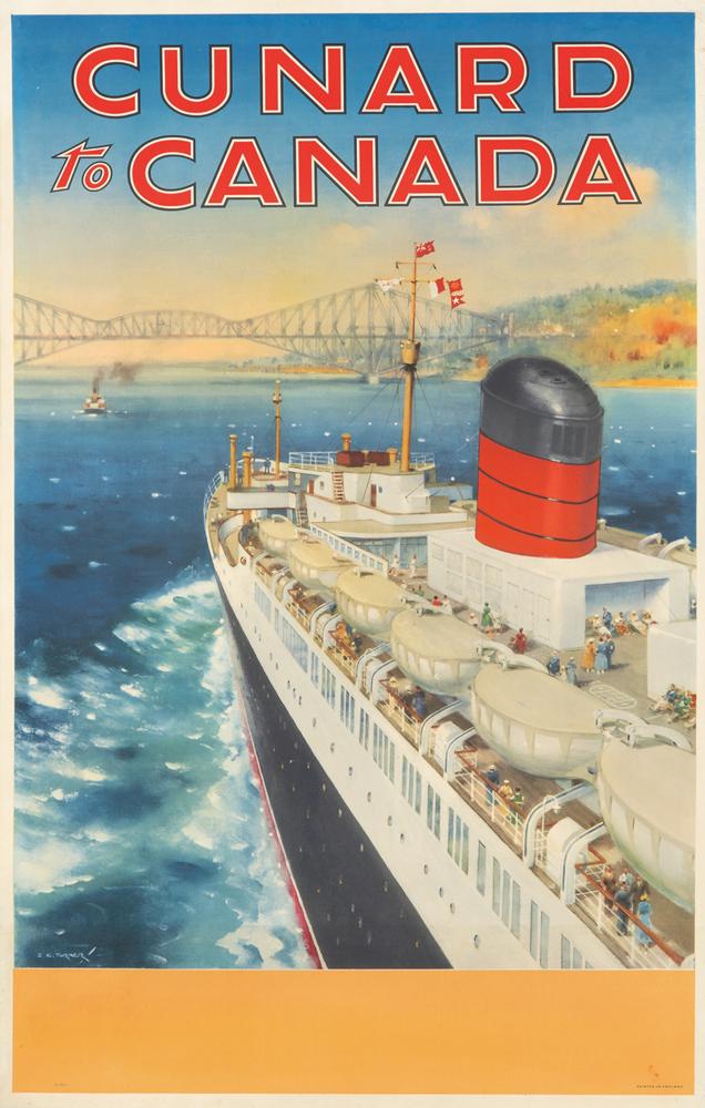Cunard to Canada. ca. 1925