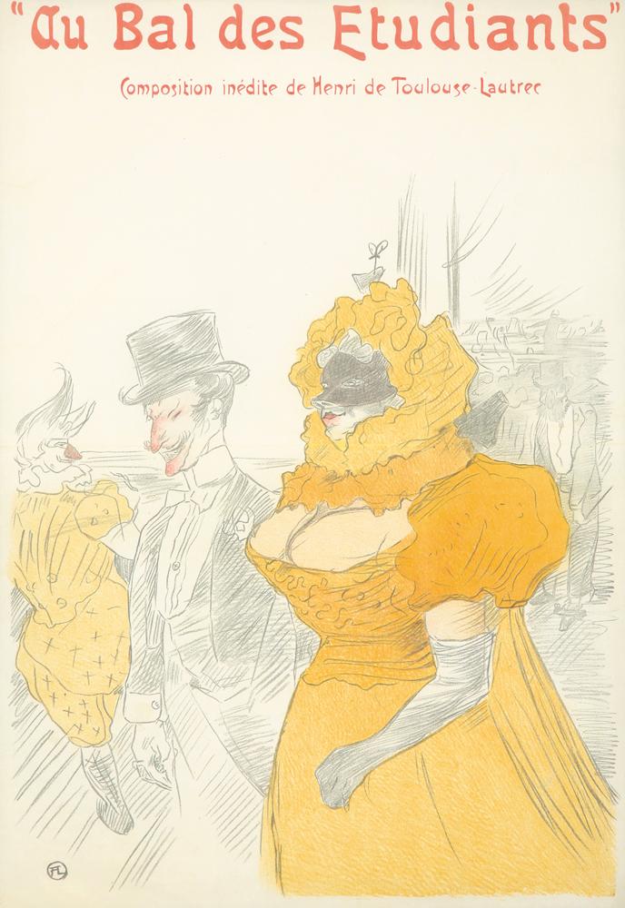 Au Bal des Etudiants. 1901
