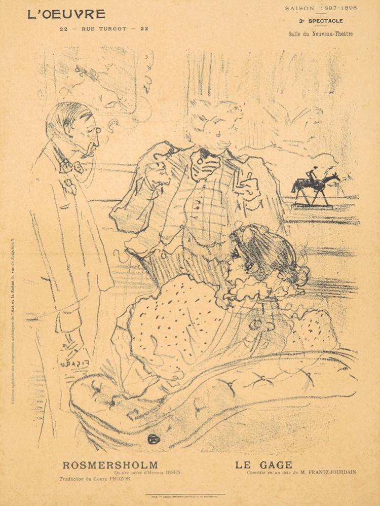 L'Oeuvre / La Gage. 1897