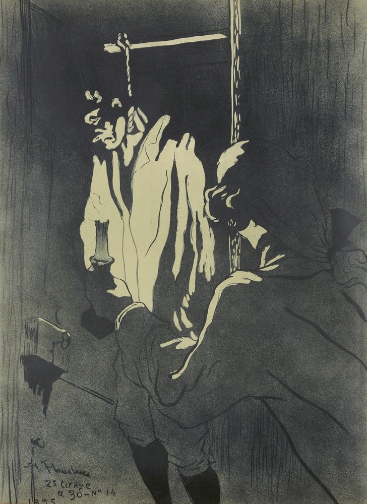 Le Pendu. 1895