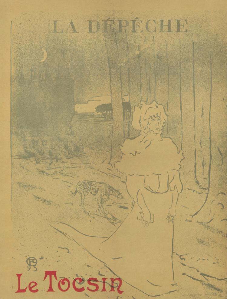 La Dépêche / Le Tocsin. 1895