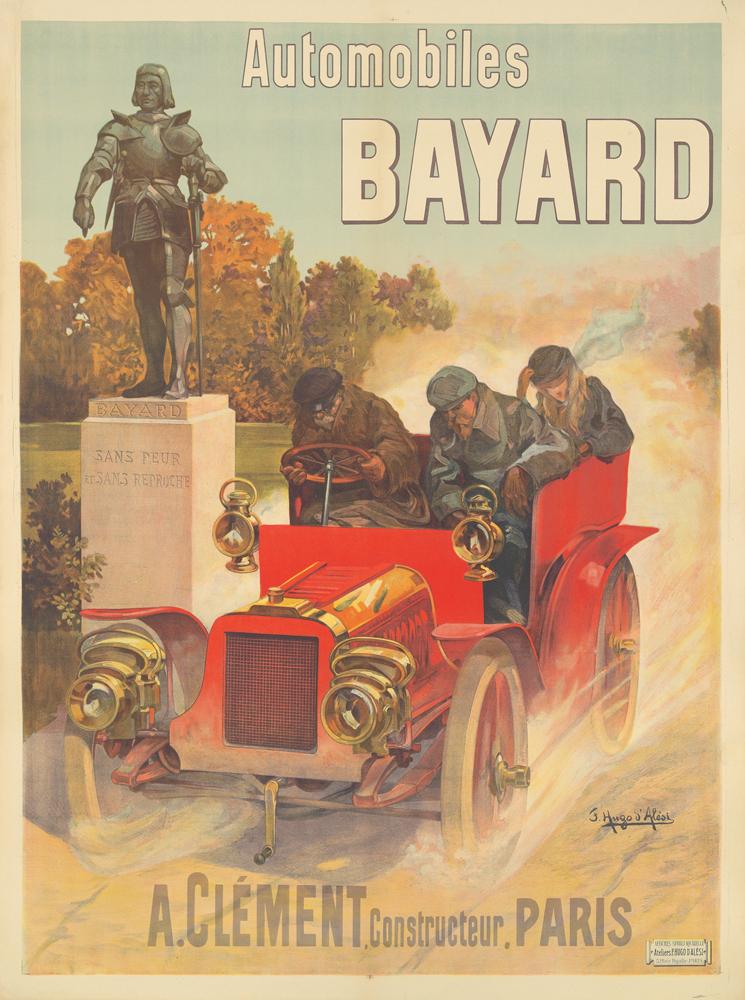 Automobiles Bayard. ca. 1905