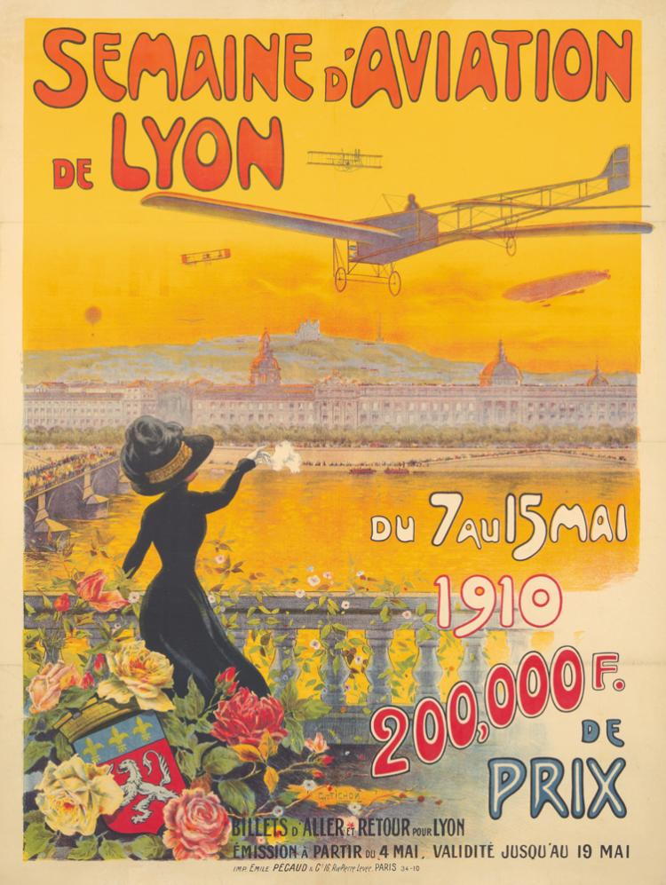 Semaine d'Aviation de Lyon. 1910
