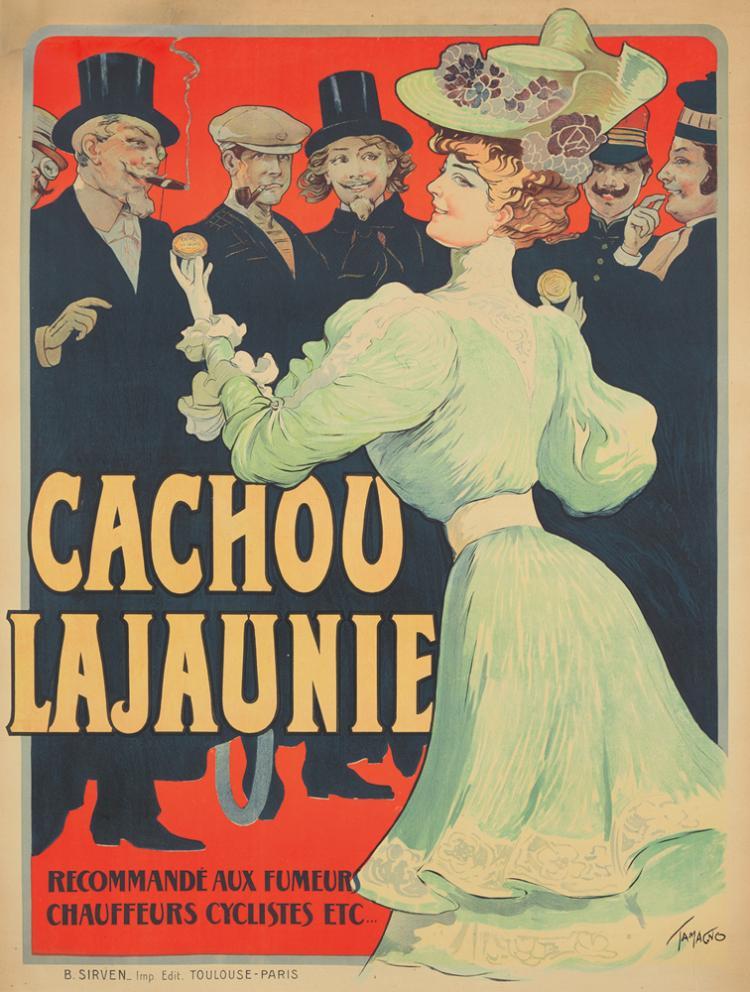 Cachou Lajaunie. ca. 1900