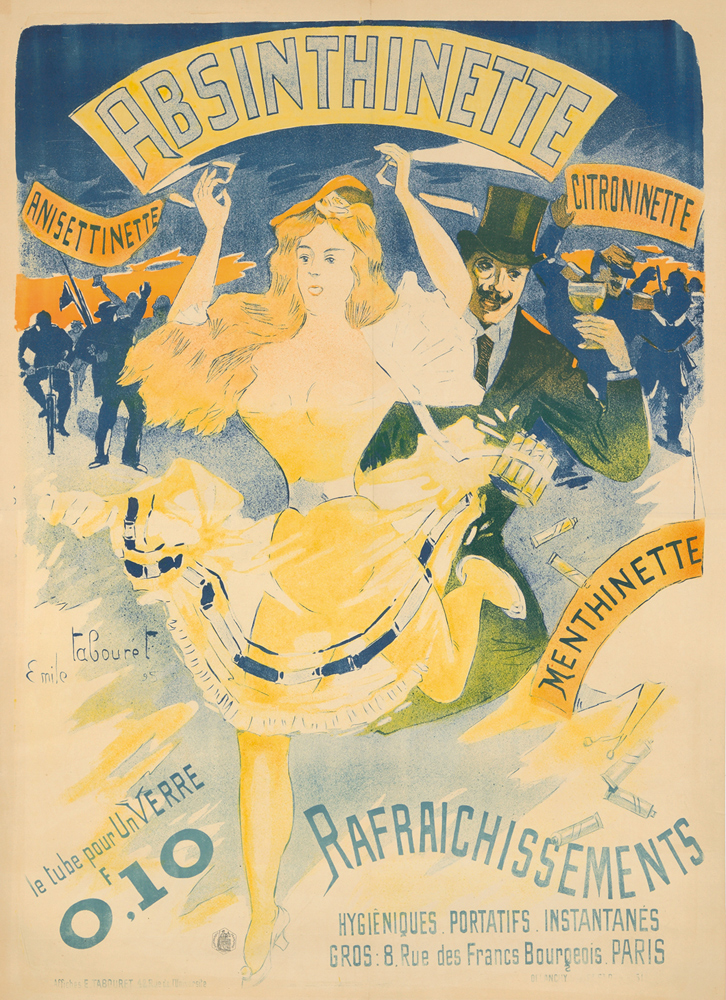 Absinthinette. 1895