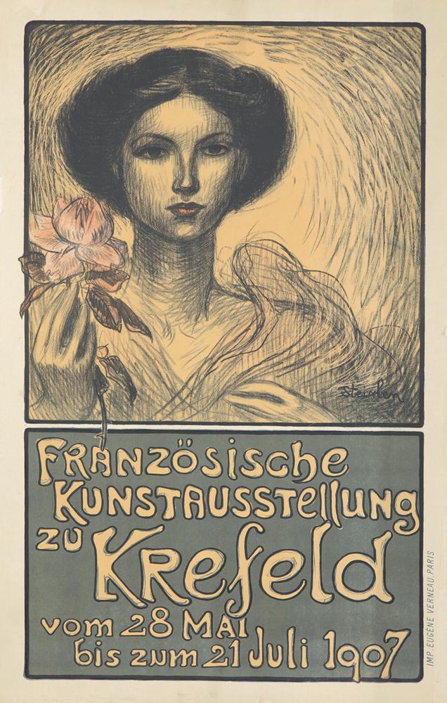 Französische Kunstausstellung zu Krefeld. 1907