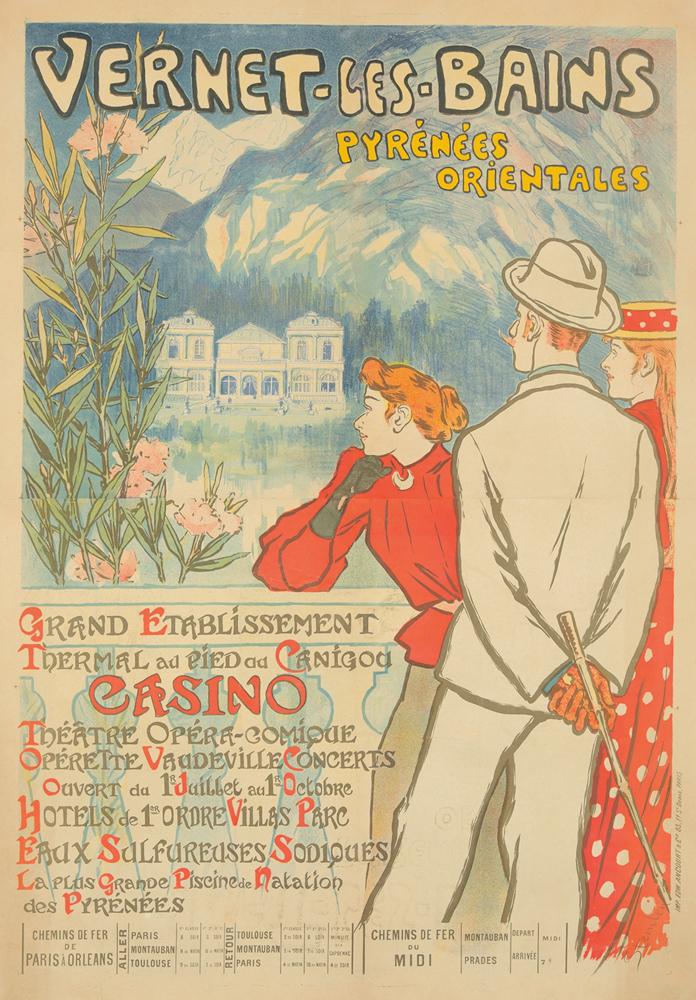 Vernet-les-Bains. 1896