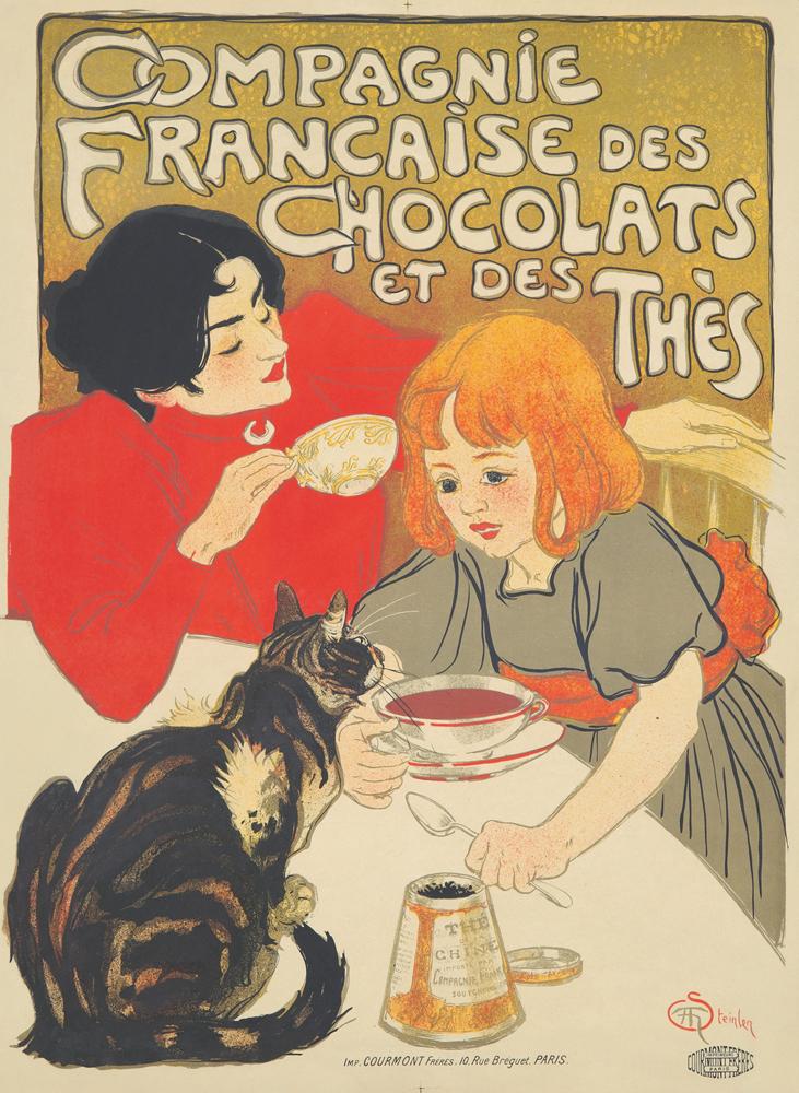 Compagnie Française des Chocolats et des Thès. 1895