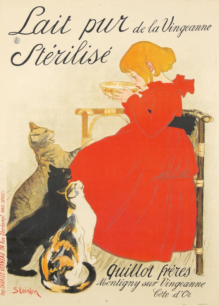Lait pur Stérilisé. 1896