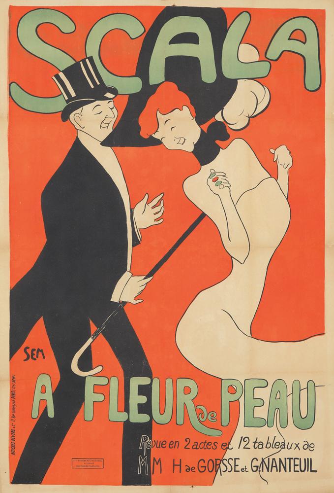 Scala / A Fleur de Peau. ca. 1904