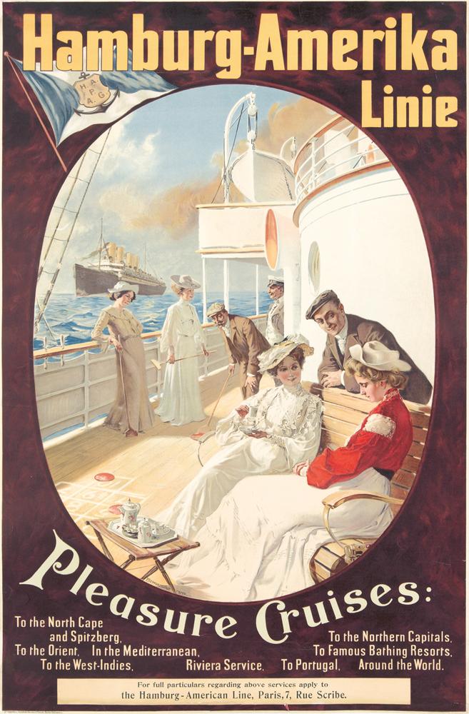 Hamburg-Amerika Linie. ca. 1903