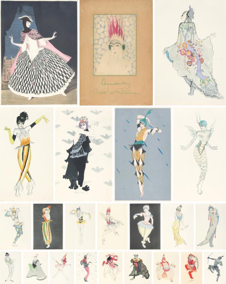 Ballet und Pantomime, by Walter Schnackenberg. 1920