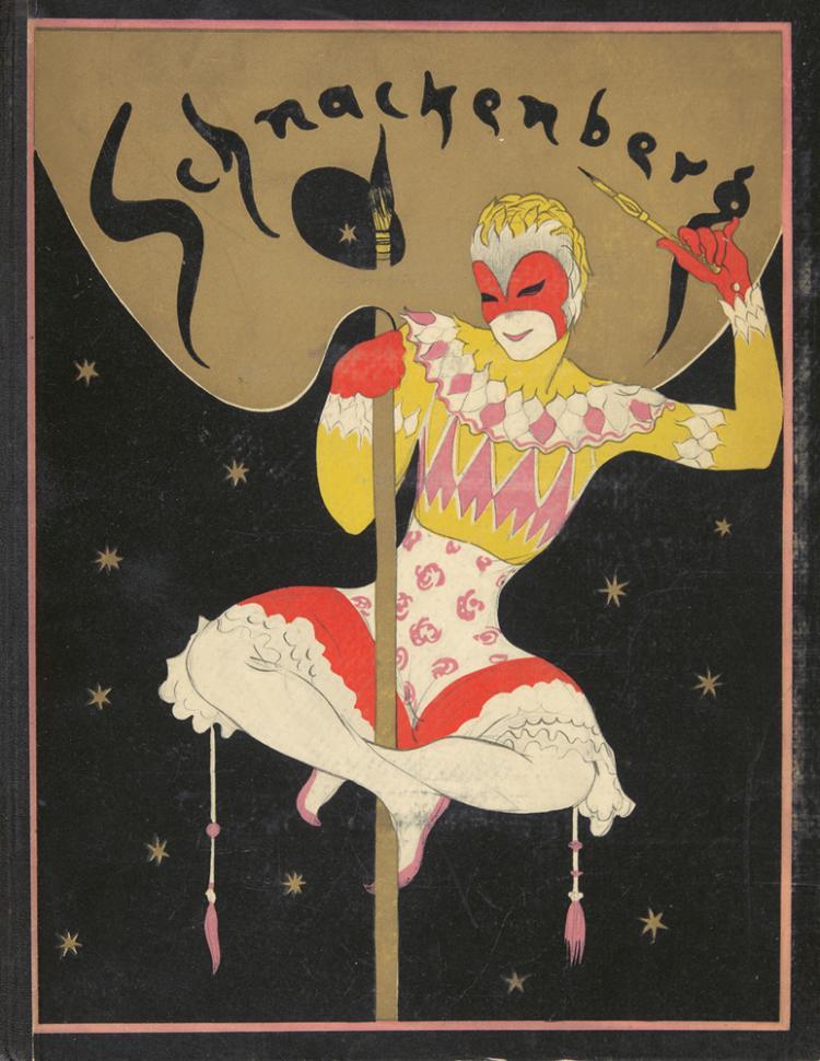 Schnackenberg: Kostume/Plakate und Dekorationen, by Oskar Bie. 1922