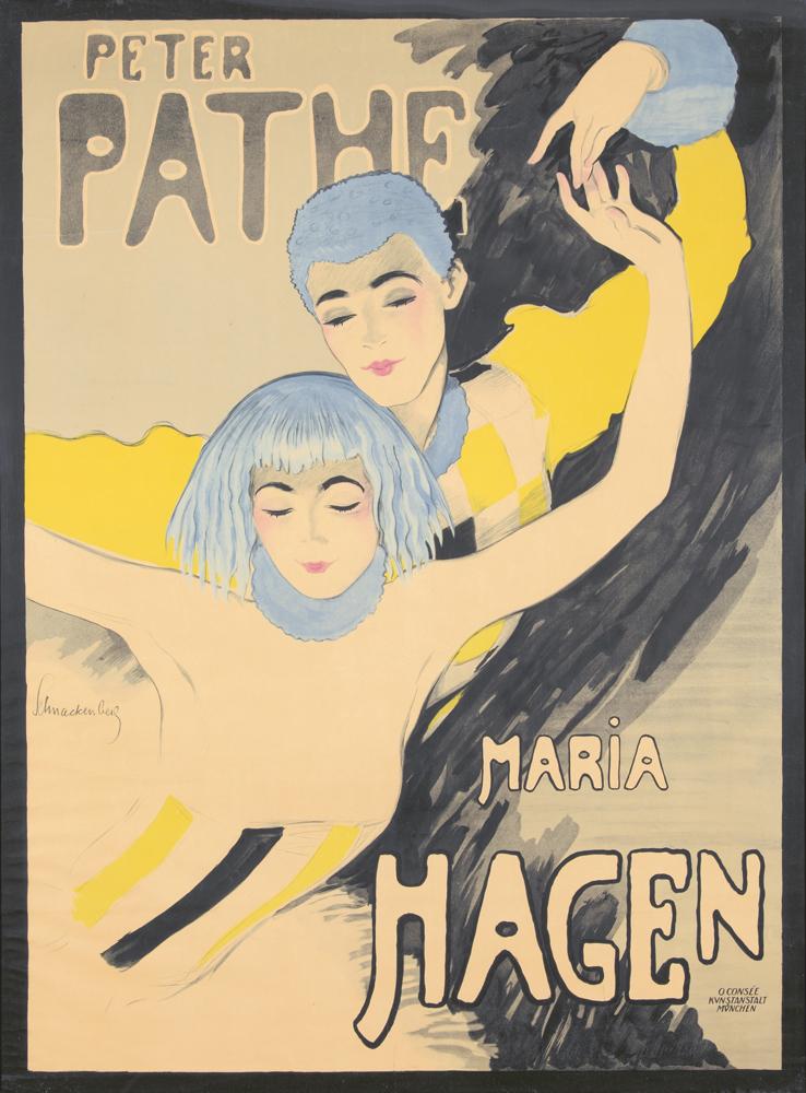 Peter Pathe / Maria Hagen. 1918