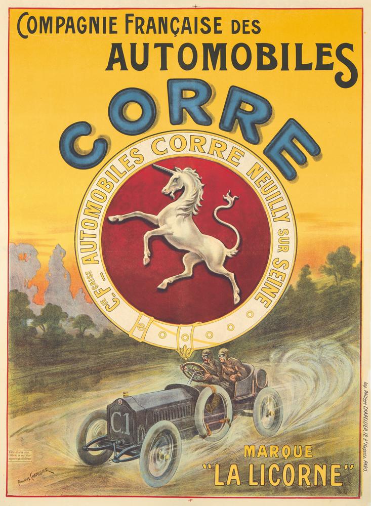 Automobiles Corre. ca. 1901