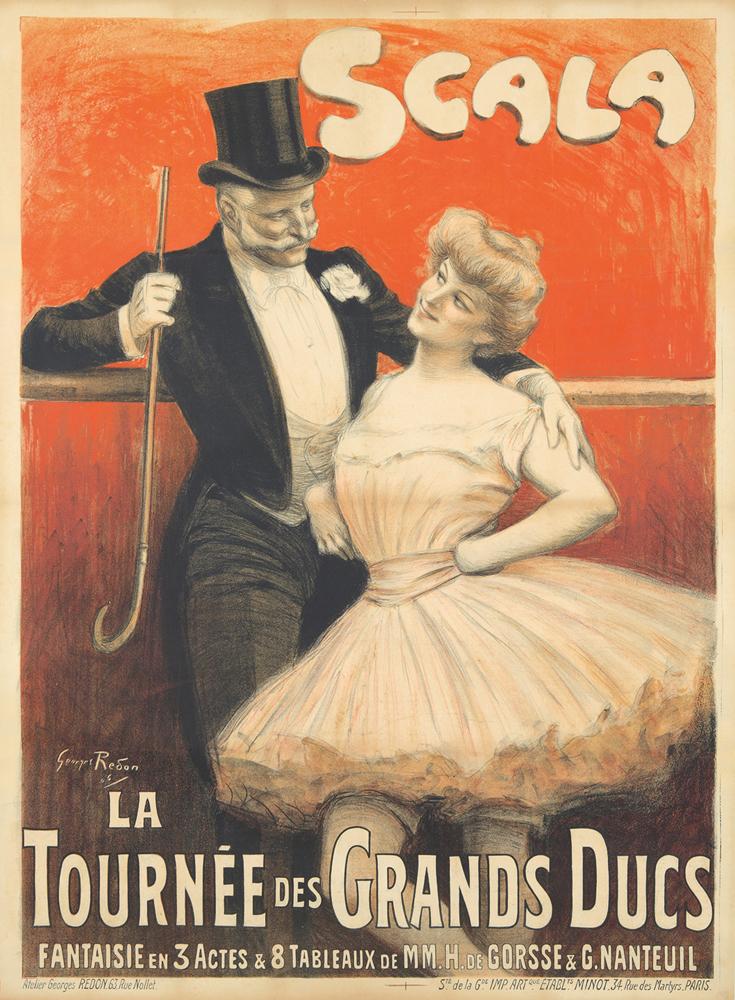 Scala / La Tournée des Grands Ducs. 1906