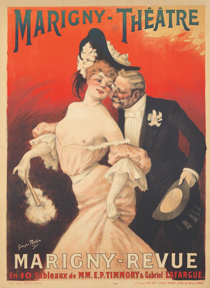 Marigny-Théâtre / Marigny-Revue. 1905