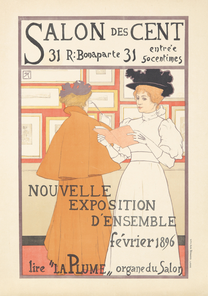 Salon des Cent / February 1896.  1896