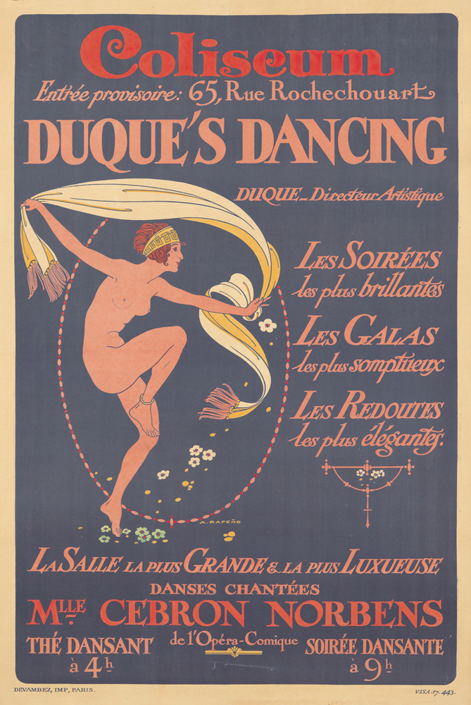 Duque's Dancing. ca. 1920