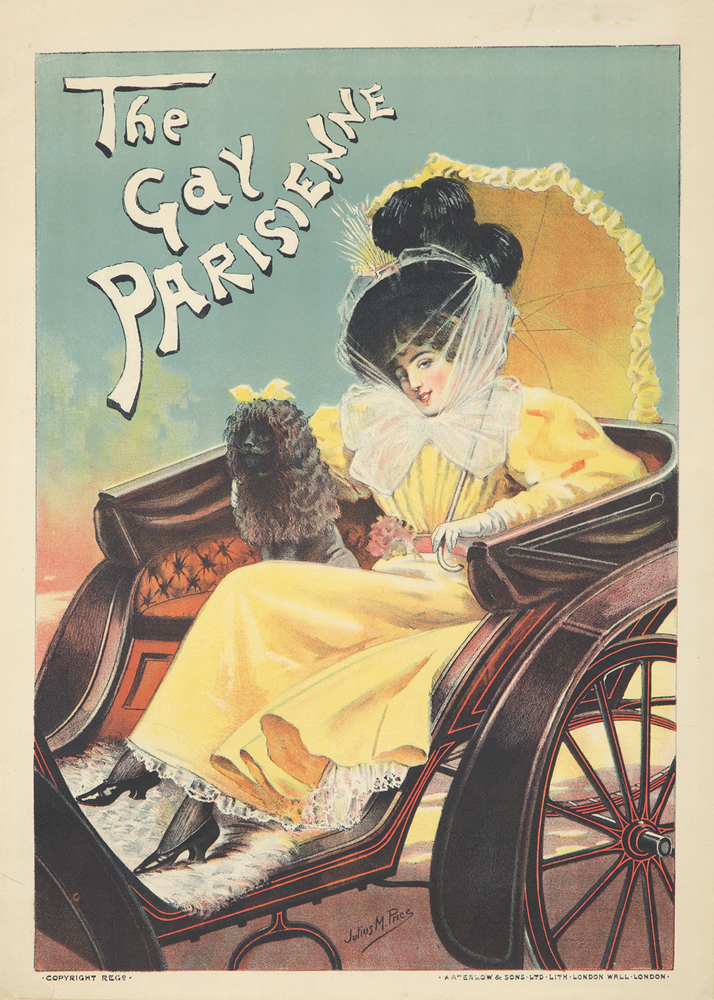 The Gay Parisienne. ca. 1896