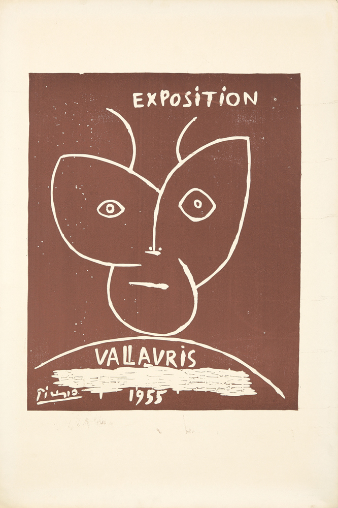 Exposition Vallauris. 1955