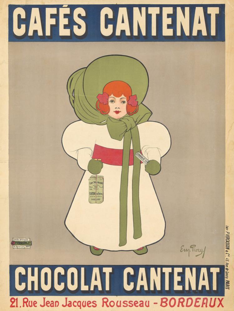 Cafés Cantenat. ca. 1900