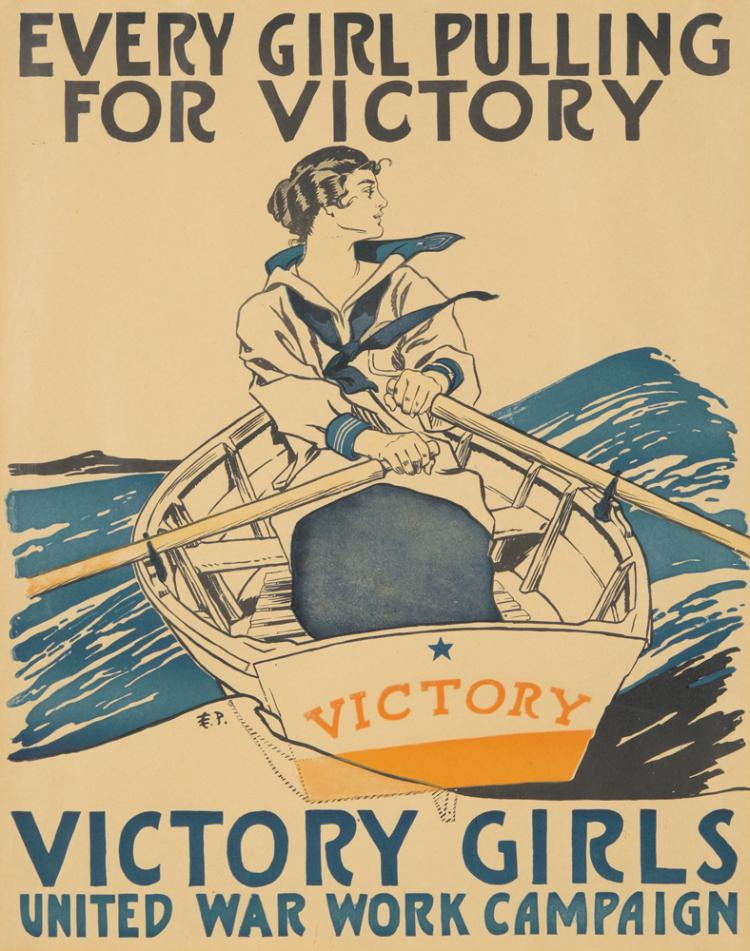 Victory Girls. ca. 1918