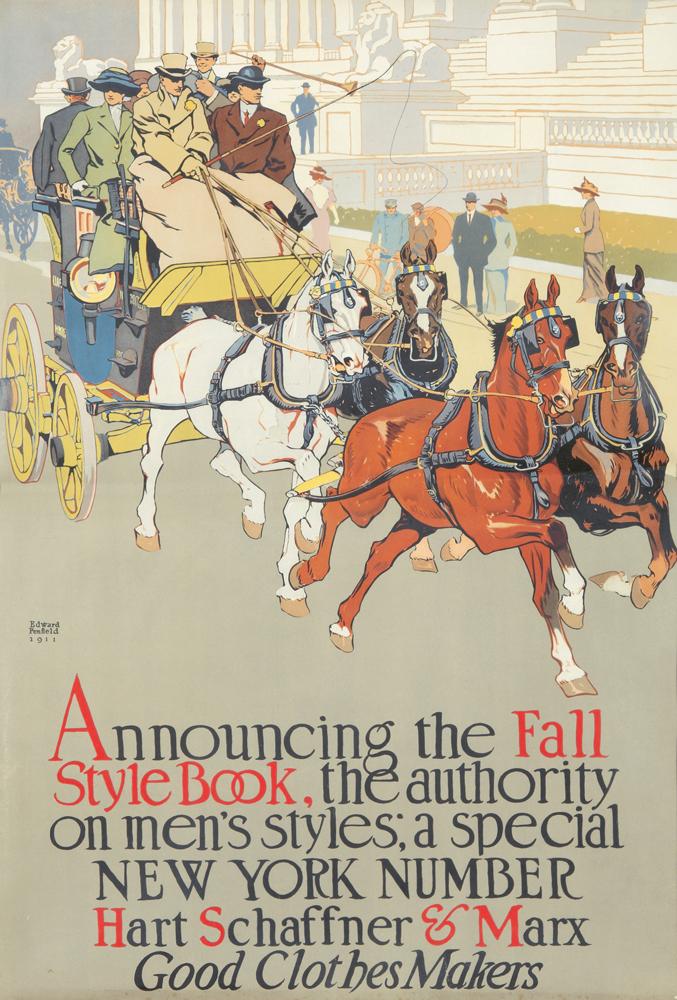 Hart Schaffer & Marx / Fall Style Book. ca. 1911