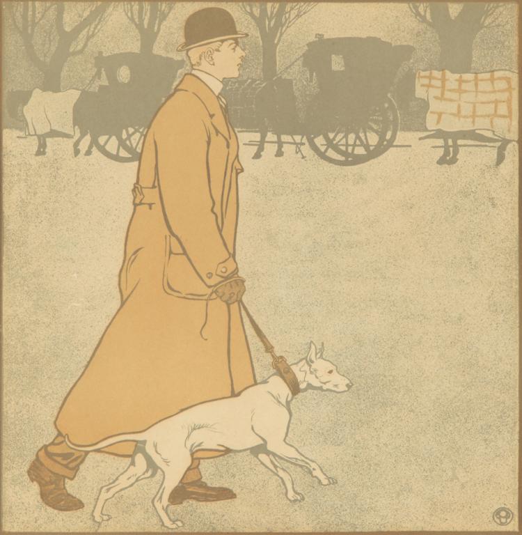 The Evening Walk. ca. 1898