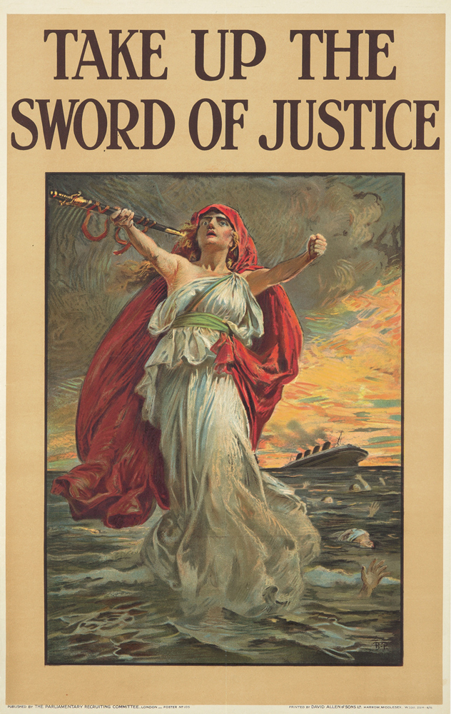 Take up the Sword of Justice. 1915
