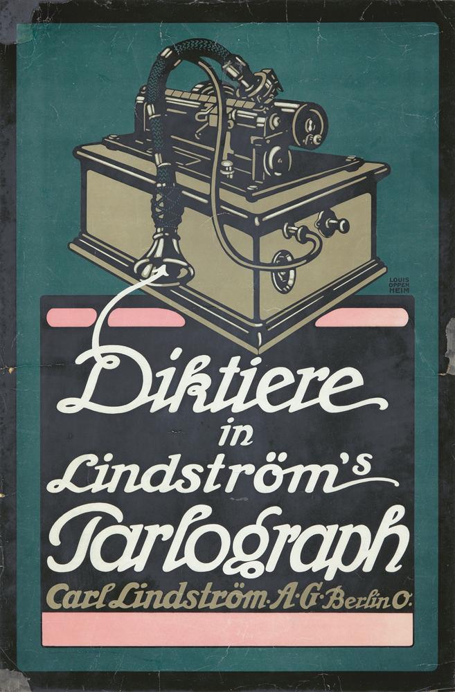 Diktiere. ca. 1895