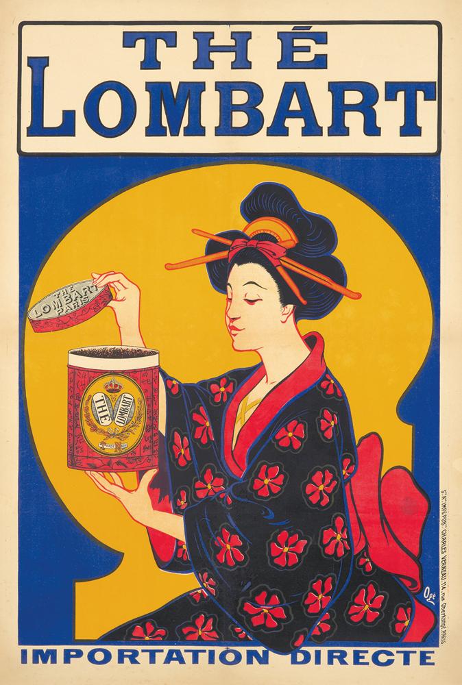 Thé Lombart. ca. 1898