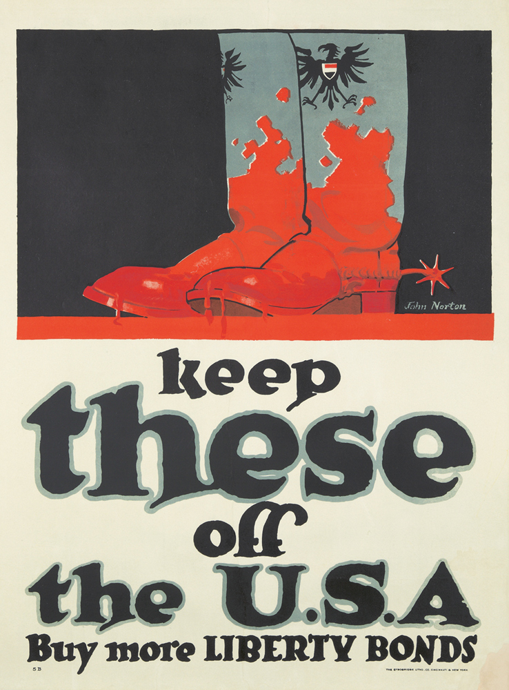 Keep These Off the U.S.A. 1918