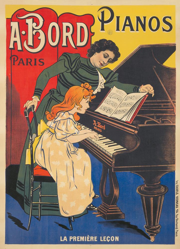 A. Bord / Pianos. ca. 1899