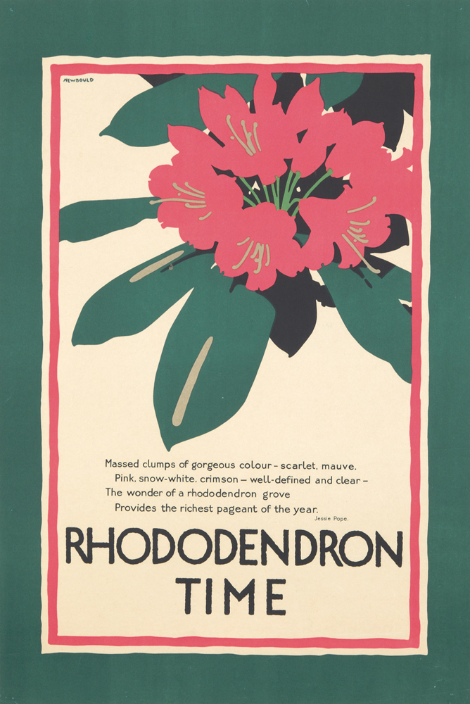 Rhododendron Time. 1922