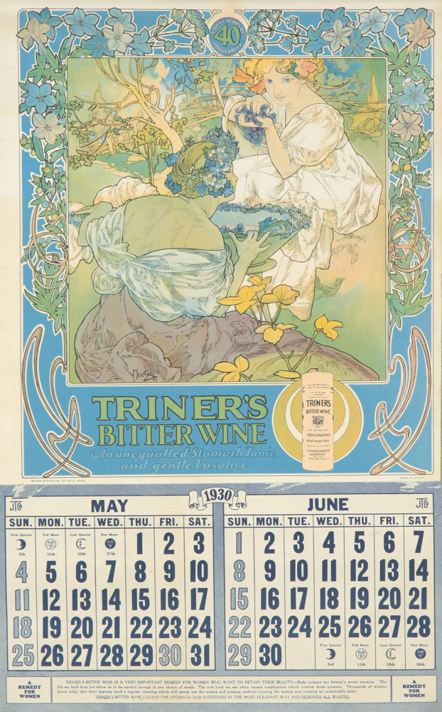 Triner's Bitter Wine. 1929